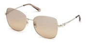 Покупка или уголемяване на тази картинка, Swarovski Eyewear SK0181-28G.