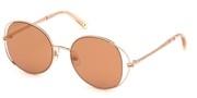 Покупка или уголемяване на тази картинка, Swarovski Eyewear SK0230-28G.